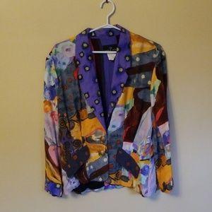 Colorful vintage blazer